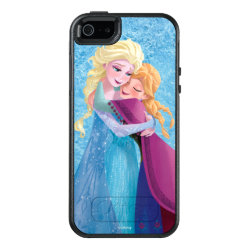 OtterBox Symmetry iPhone SE/5/5s Case with Sister Love: Anna & Elsa Hugging design