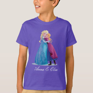 Anna and Elsa | Hugging T-Shirt