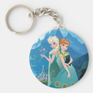 Anna and Elsa   My Sister Loves Me Keychain