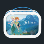 """Anna and Elsa   My Sister Loves Me Lunch Box<br><div class=""""desc"""">Frozen Fever - Anna and Elsa   Check out this customizable Anna and Elsa design! Personalize your own Frozen merchandise on Zazzle.com! Click the Customize button to insert your own name or text to make a unique product. Try adding text using various fonts &amp; view a preview of your design!...</div>"""