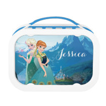 Anna and Elsa | My Sister Loves Me Lunch Box