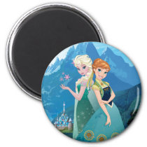 Anna and Elsa | My Sister Loves Me Magnet