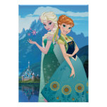 Anna and Elsa | My Sister Loves Me Poster