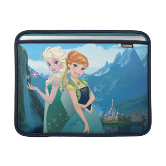 Anna and Elsa | My Sister Loves Me Sleeves For MacBook Air