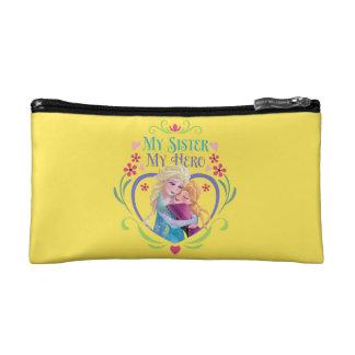 Anna and Elsa | My Sister My Hero Cosmetic Bag