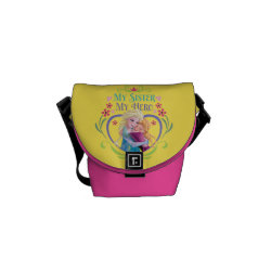 Rickshaw Mini Zero Messenger Bag with My Sister My Hero design