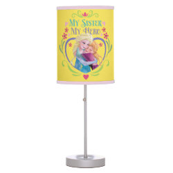 Table Lamp with My Sister My Hero design