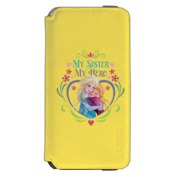 Incipio Watson™ iPhone 6 Wallet Case with My Sister My Hero design