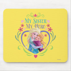 Mousepad with My Sister My Hero design