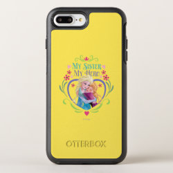 OtterBox Apple iPhone 7 Plus Symmetry Case with My Sister My Hero design
