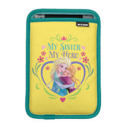 iPad Mini Sleeve with My Sister My Hero design