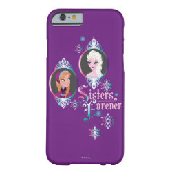 Case-Mate Barely There iPhone 6 Case with Frozen's Anna & Elsa: Sisters Forever design