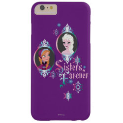Case-Mate Barely There iPhone 6 Plus Case with Frozen's Anna & Elsa: Sisters Forever design