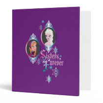 Anna and Elsa | Portraits in Snowflakes Binder