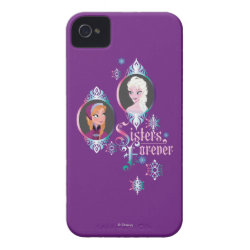 Case-Mate iPhone 4 Barely There Universal Case with Frozen's Anna & Elsa: Sisters Forever design