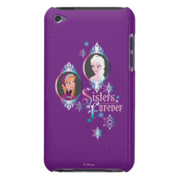 Case-Mate iPod Touch Barely There Case with Frozen's Anna & Elsa: Sisters Forever design