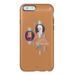 Incipio Feather® Shine iPhone 6 Case with Frozen's Anna & Elsa: Sisters Forever design