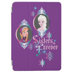 iPad Air Cover with Frozen's Anna & Elsa: Sisters Forever design