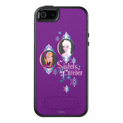 OtterBox Symmetry iPhone SE/5/5s Case with Frozen's Anna & Elsa: Sisters Forever design