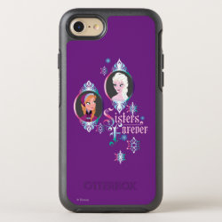 OtterBox Apple iPhone 7 Symmetry Case with Frozen's Anna & Elsa: Sisters Forever design