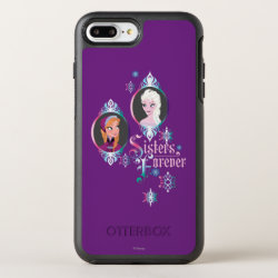 OtterBox Apple iPhone 7 Plus Symmetry Case with Frozen's Anna & Elsa: Sisters Forever design