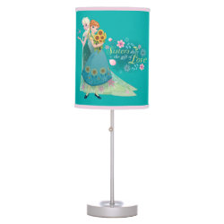 Table Lamp with The Gift of Love: Frozen Fever Sisters design
