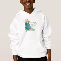 Girls' American Apparel Fine Jersey T-Shirt with The Gift of Love: Frozen Fever Sisters design