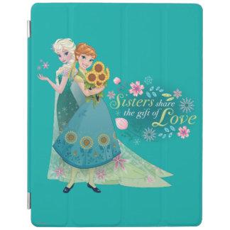 Anna and Elsa | Sister Love iPad Smart Cover