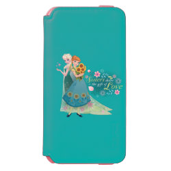 Incipio Watson™ iPhone 6 Wallet Case with The Gift of Love: Frozen Fever Sisters design