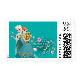 Anna and Elsa | Sister Love Postage