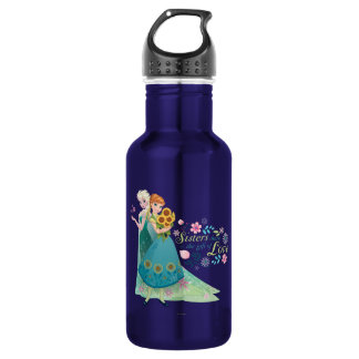 Anna and Elsa | Sister Love Water Bottle