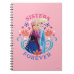 Anna and Elsa Sisters Forever Notebooks
