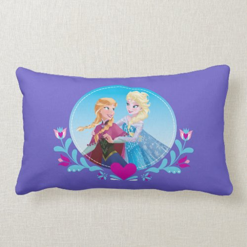 Anna and Elsa - Sisters Forever Pillows