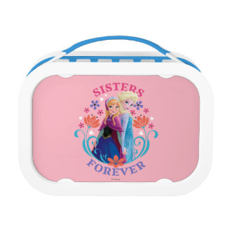 Anna and Elsa | Sisters with Flowers Lunch Box