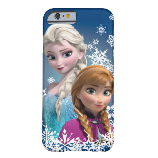 Anna and Elsa | Snowflakes Barely There iPhone 6 Case