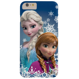 Anna and Elsa | Snowflakes Barely There iPhone 6 Plus Case