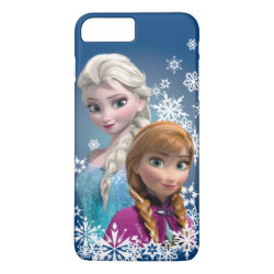 Case-Mate Tough iPhone 7 Plus Case with Disney's Frozen Princesses Anna & Elsa design