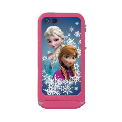 Disney's Frozen Princesses Anna & Elsa Incipio Feather Shine iPhone 5/5s Case