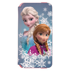 Incipio Watson™ iPhone 6 Wallet Case with Disney's Frozen Princesses Anna & Elsa design