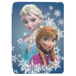iPad Air Cover with Disney's Frozen Princesses Anna & Elsa design