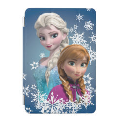iPad mini Cover with Disney's Frozen Princesses Anna & Elsa design