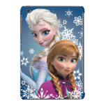 Anna and Elsa   Snowflakes iPad Mini Retina Case