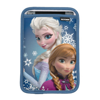 Anna and Elsa | Snowflakes iPad Mini Sleeve