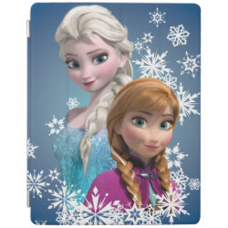 iPad 2/3/4 Cover with Disney's Frozen Princesses Anna & Elsa design