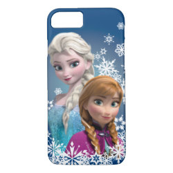 Case-Mate Barely There iPhone 7 Case with Disney's Frozen Princesses Anna & Elsa design