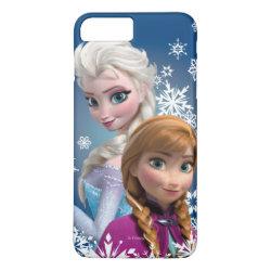 Case-Mate Tough iPhone 7 Plus Case with Disney's Frozen Princesses Anna & Elsa design
