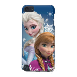 Case-Mate Barely There 5th Generation iPod Touch Case with Disney's Frozen Princesses Anna & Elsa design