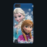 "Anna and Elsa | Snowflakes iPod Touch (5th Generation) Cover<br><div class=""desc"">Frozen - Anna and Elsa</div>"