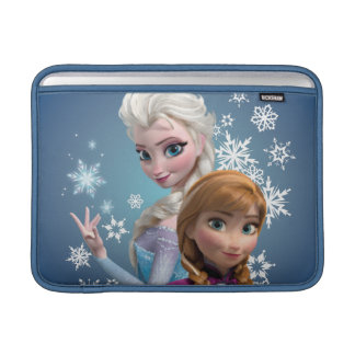 Anna and Elsa | Snowflakes MacBook Sleeve