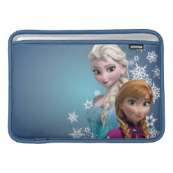 Disney's Frozen Princesses Anna & Elsa Macbook Air Sleeve